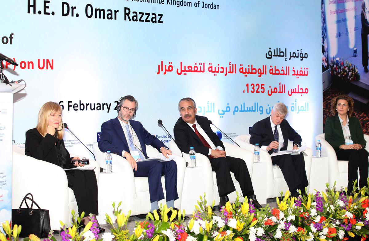 Interior minister reiterates Jordan's commitment to activate