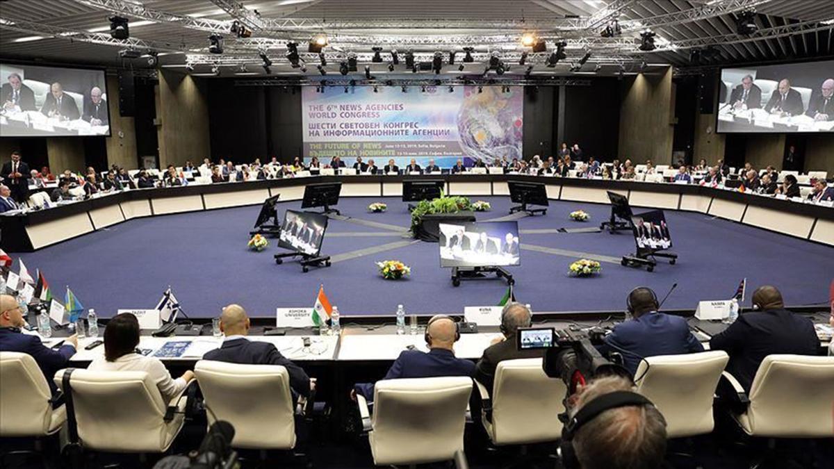 نتيجة بحث الصور عن المؤتمر الدولي السادس لوكالات الأنباء يختتم أعماله في صوفيا